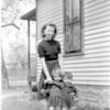 Olive May Warwick Schuyler with Janie & Corky