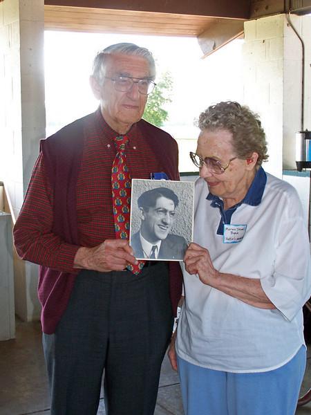 Schuyler Aijian (Maude's son) & Marian Strahl Boyer (Hattie's daughter)