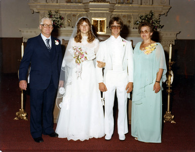 Clarence, Gary & Lynn, Joyce