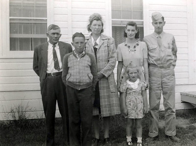 Sanford and Eva Clark Family