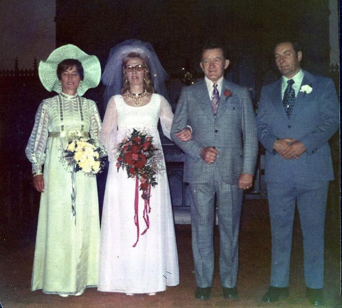 Marriage of Doris (Clark) Grovogel and George Majdacic
