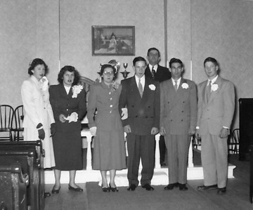 Wedding of Gerald Clark and Beverly Teich