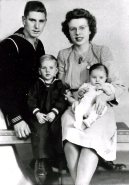 Cliff and Audrey Clark Family