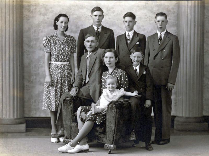 Family of Sanford and Eva Clark