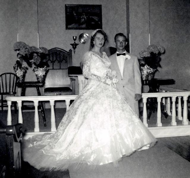 Wedding of DorisAnn Clark and Alvin Grovogel