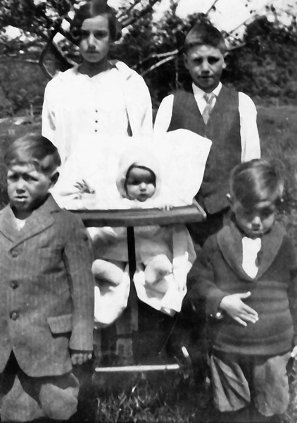 Children of Sanford and Eva Clark