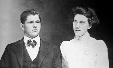 Homer Otho Clark and Clara Frances Masincup