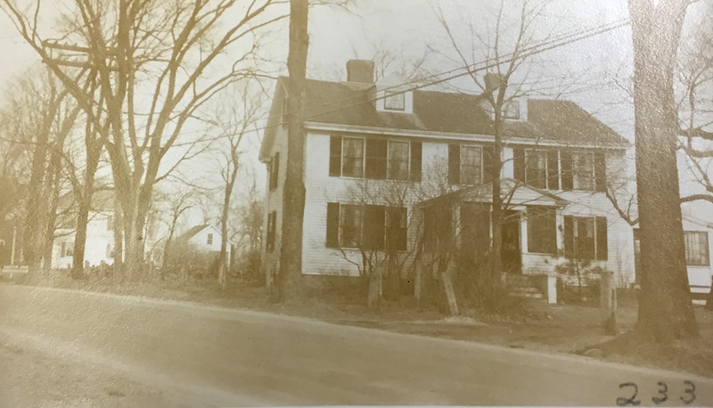 John Stephenson house, South Main Street, Cohasset. Cohasset Historical Society.