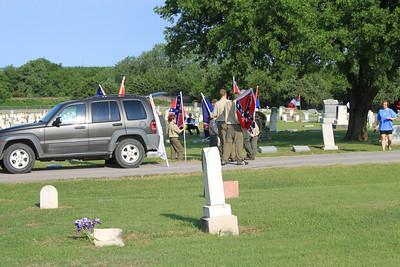 Confederate Veterans Memorial Day 2010