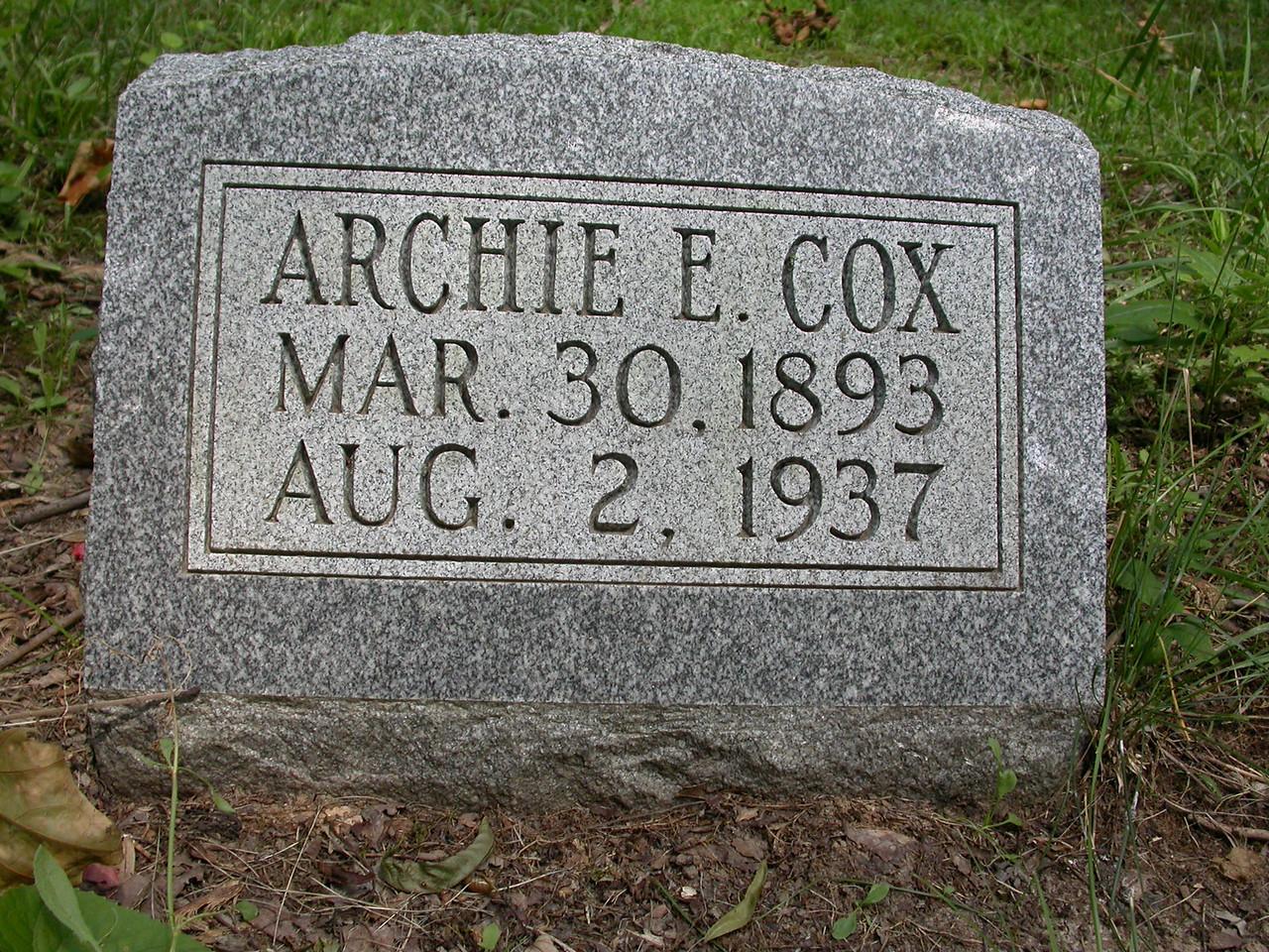 Located at Joppa Church cemetery, northern Vigo County, Indiana.