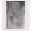 Edward C Dohm as a boy, 1889