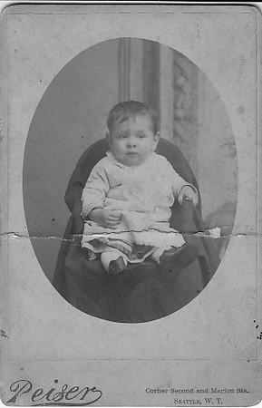 Edward Clarence Dohm, Seattle, c 1884