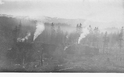 Probably narrow gauge railway associated with survey, Washington