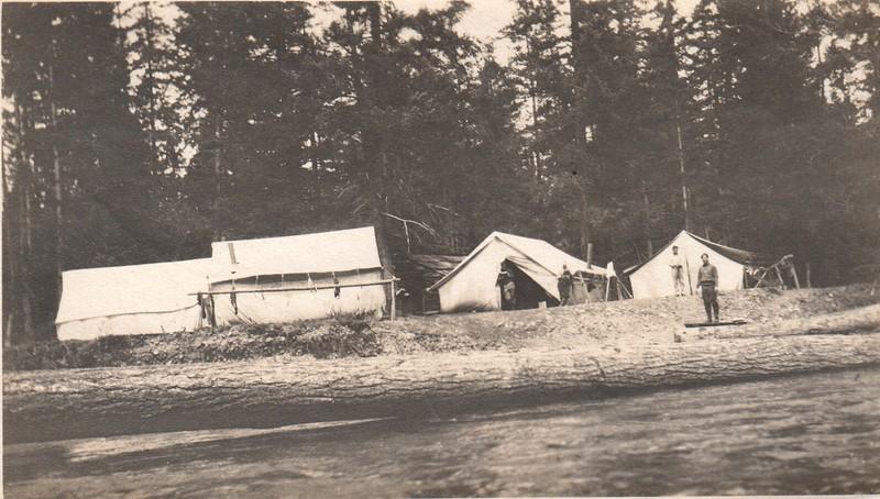Kachess River Survey Camp, 1908