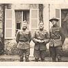Edw C Dohm in France, 1918