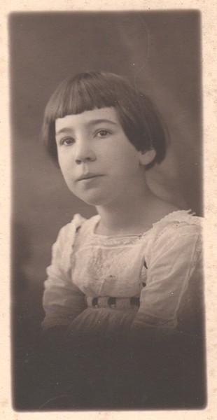 Phyllis Virginia Dohm, c1912