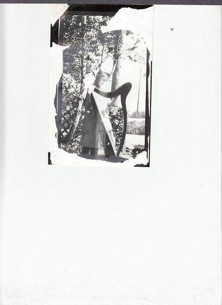 Dorothy Dohm and harp