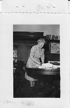 Estelle Dohm (Gay), 1952, Woodbine MD