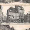Three WWI postcards, Langres, France