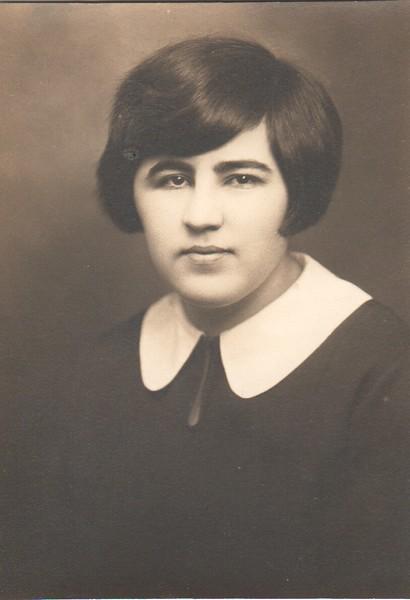 Dorothy Dohm, high school