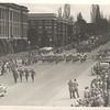 Military parade, Olympia, 1940s