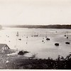 Hempstead Harbor, c.1950, looking south.  This is overlooking Hempstead Harbour Club from the approximate location of today's Garvies Point Preserve.