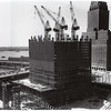 The World Trade Center under construction, early 1970s