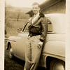 "Stanley Justus Donaldson, Jr. (1923-1971) in April 1950 (age 27).  The car is a new 1949 Plymouth ""Special Deluxe"" 2-door coupe."