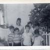 Standing left to right Susan Curcio,  Patsy Ciuca, Anthony Puzzo<br /> Front, next door neighbor, Larry Fontana, John Ciuca, Cortese cousin-Lenny Sacfidi, Birthday girl Rosa