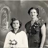 Connie Dorata Puzzo, godmother to niece Susan Curcio - 1954