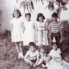 Standing Left to right,  neighbors x2 then Linda Dorata, John Ciuca.<br /> Sitting left to right, Greg Puzzo, Cathy Dorata, birthday girl Rosa