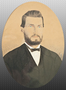 George W. Dougherty (1843-1914) father of nine children including J. M.