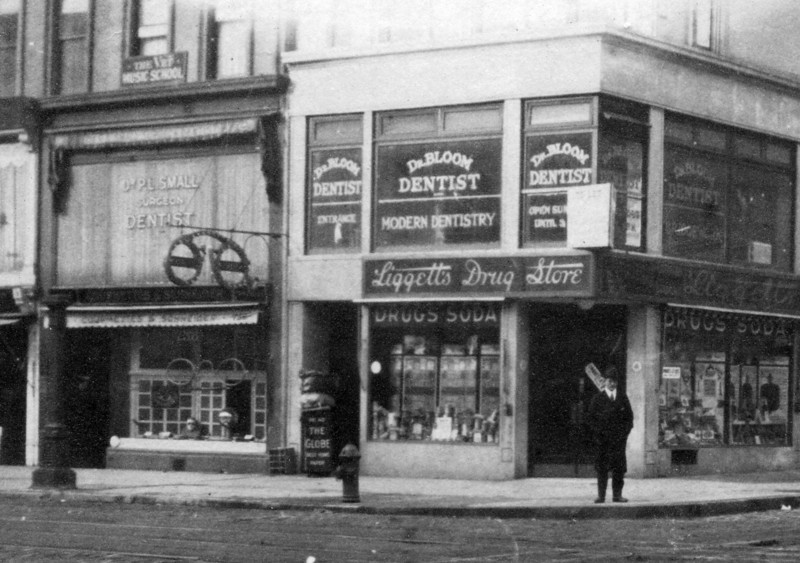 """Dr. Bloom, Dentist"" (Dave Bloom's dental practice)<br /> <br /> Office at 740 Lexington Avenue (at 59th Street), New York, NY, opened October 1926"