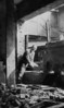"""Dave Bloom surveying the construction of the Brooklyn office of """"Dr. Bloom, Dentist"""" (his dental practice)<br /> <br /> 1 Dekalb Avenue, Brooklyn, NY - built in the Albee Theatre building, opened May, 1929"""