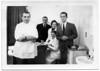 """Dr. Bloom, Dentist"" (Dave Bloom's dental practice)<br /> <br /> Staff at the office at 147 East 86th street (at Lexington), opened May, 1929.<br /> <br /> Dr. Korn, Oscar Hirschmann, ?, Hannah Hirschmann (standing), Daniel Bloom"