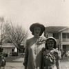 1947, Helen Dugan and Lois Glines in Enid, OK.
