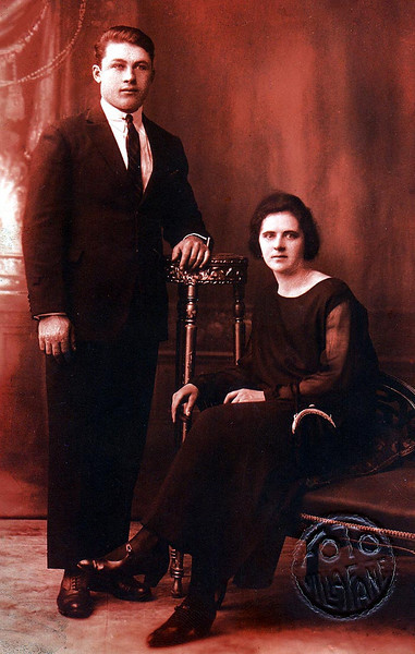 FRANCESCA ELLERO & husband
