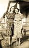 Adelia Ellero and Anita Clausi. ca. 1937
