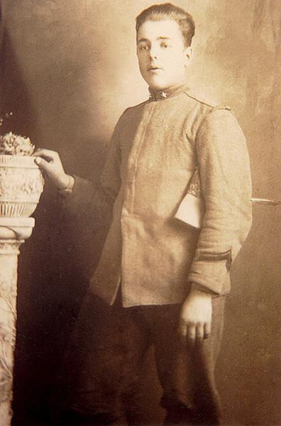 Alpini Corporal Loui Celotti. ca. 1925