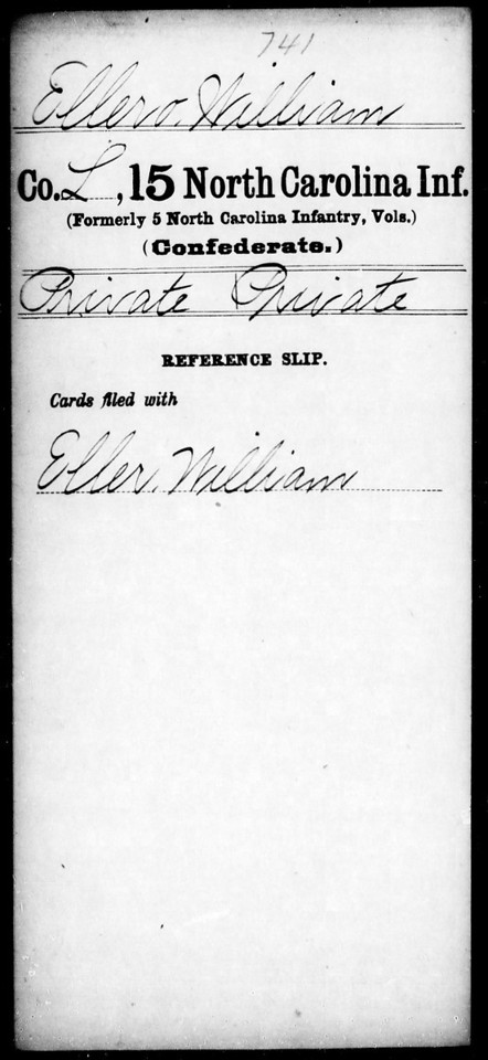 PVT. WILLIAM ELLERO, CSA