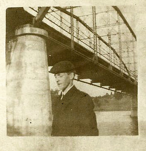 Percy at Napier Bridge