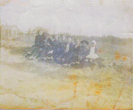 all the cousins abt 1910