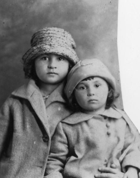 Ruth Bloom, Naomi Bloom<br /> <br /> Passport photo, 1923