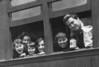 "Ruth Bloom, Kate Rosen, Naomi Bloom, Minnie Rosen, Sarah Bloom, Irving Grossman<br /> <br /> Written on back: ""On the way to Vienna""<br /> <br /> ca 1923"