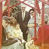 1969 - back: Wayne Wright, Dick Voas, Jean Wright; front: Fred Huffman, Sherri Wright, Susie's baby, Cree Wicks