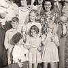 1941 - back: Arlene, Holly & Mary Vollenweider, Willa & Bob Hirsch - holding Mavis Vollenweider; middle: Don Voas, Marian Vollenweider, Catherine Voas; front: Dwaine Voas & Marge Voas, Phyllis Vollenweider