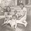 1938 - Catherine holding Marjorie, Donald, Joann & Evelyn (Tiny)