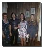 Holly Gagan, Michael Hall, Kathy Gagan, Cheryl Ann Hall, date unknown.
