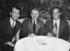My maternal grandfather George A. Gagan (center) with Jimmy Stewart (left) and Frank Capra (right) at the Ritz Carlton Hotel in Boston, MA in 1946.