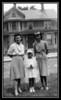 Evelyn (Brodeur) & Arlene Gagan with Ethel (Brodeur) Carlton on Arlene's first communion day, date unknown.